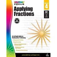 Spectrum - Applying Fractions, Grade 4 (Spectrum Focus)