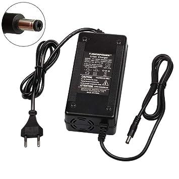 TANGSPOWER 54.6V 3A Cargador de Batería para 13S 48V Batería de Litio de Litio eléctrica Batería de Litio Cargador
