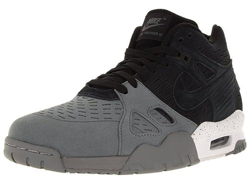 quality design 0ae65 08ede Nike Air Trainer 3 LE, Zapatillas de Running para Hombre, Negro Gris    Blanco (Black Black-Cool Grey-White), 43 EU  Amazon.es  Zapatos y  complementos