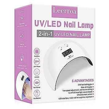 Lampe für Nagel LED UV Gel Dryer Curing OPI Polish Tragbare