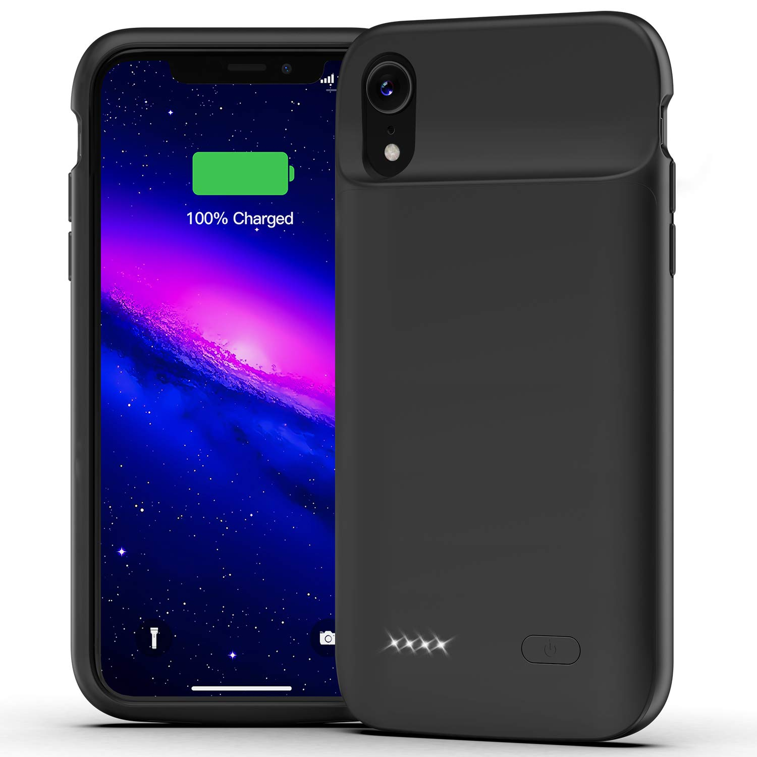 Funda Con Bateria de 5000mah para Apple Iphone Xr LONLIF [7T6D49T2]