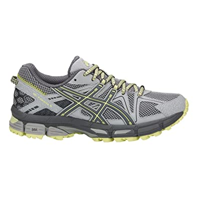 ASICS Women's Gel-Kahana 8 Mid Grey/Carbon/Limelight 6 ...