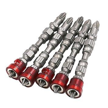 SMILEQ 5 Unid 65mm Antideslizante Destornillador Magnético ...