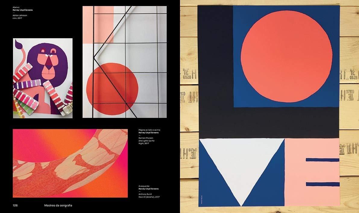 Mestres da Serigrafia  Tecnicas e segredos dos melhores artistas  internacionais da impressão serigrafica - 9788584521289 - Livros na Amazon  Brasil 720ff07988d62