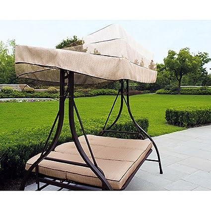 amazon     sand d 2010 swing replacement canopy   garden  u0026 outdoor  rh   amazon