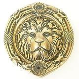 Lion Face Round Shape Door Knocker