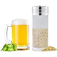 Dry Hopper Brewing Filter, Povkeever Acero inoxidable Homebrew Beer Dry Hopper Filter con malla de 300 micrones para Cornelius Kegs Corney Kegs