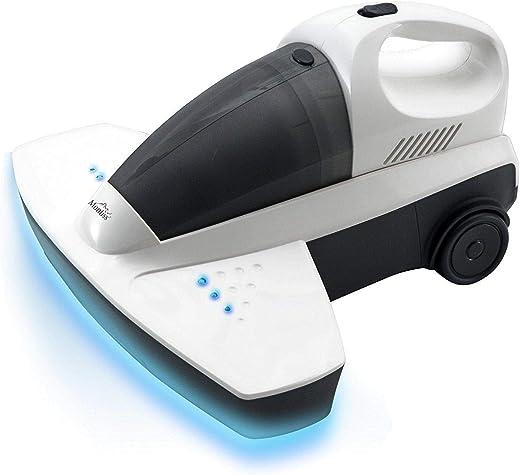 مونتيس مكنسة UV مزوده ب ضوء الأشعة فوق البنفسجية المضادة للجراثيم . جهاز مثالي لإزالة البكتيريا من فراش الخاص بك والقضاء على العث من منزلك. مثالية لتنظيف وعلاج نسيج الأريكة والستائر والسجاد.