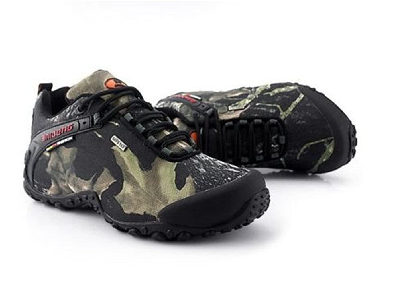 Benrisstore Mens Breathable Camouflage Sneakers Hiking Outdoor Climb Trekking Shoes