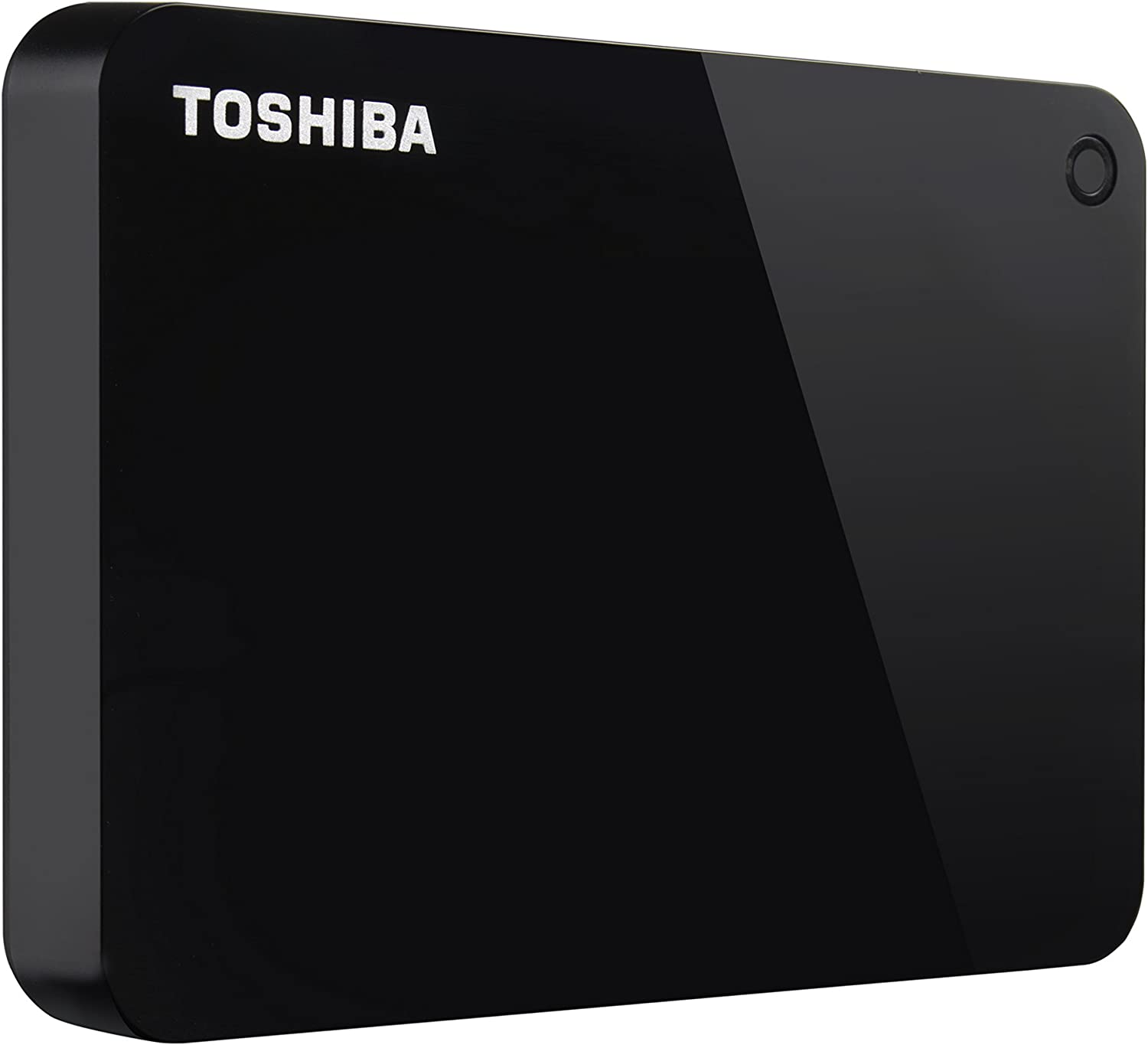 Toshiba (HDTC910XK3AA) Canvio Advance 1TB Portable External Hard Drive USB 3.0, Black