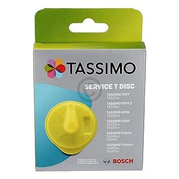 621101 TAS12 TAS20 TAS32 TAS40 TAS65  GELB Bosch Tassimo Service T-Disc