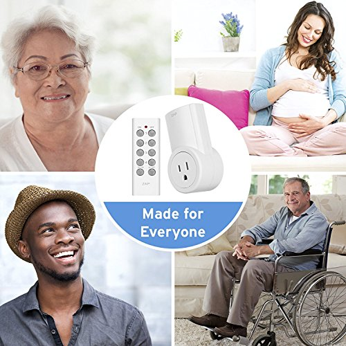 Etekcity Wireless Remote Control Electrical Outlet