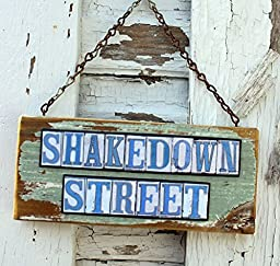 Shakedown Street Salvage Wood Sign
