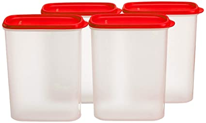 3469d23bd6b Image Unavailable. Image not available for. Colour  Tupperware New Smart  Saver Plastic Container Set ...