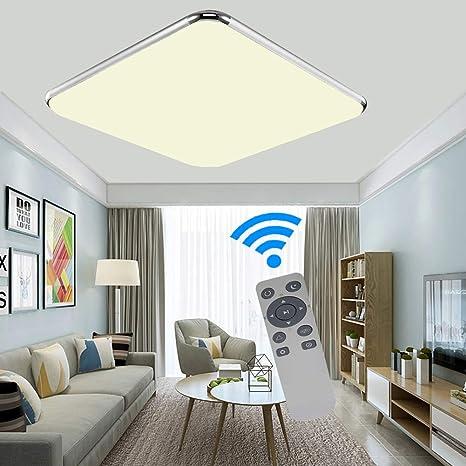 Regulable Salón Pasillo Lámpara 36w Techo Led Ademay Moderno De HD29EI