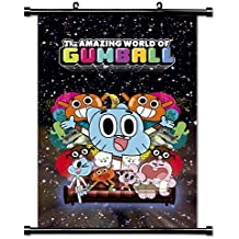 "The Amazing World of Gumball TV Show Cartoon Network Fabric Wall Scroll Poster (16"" x 24"") Inches"