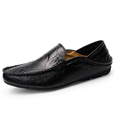 songsong shoes Loafers Black Moccasins Men Casual Loafers Men Footwear Zapatos Hombre Plus Sizes 37-