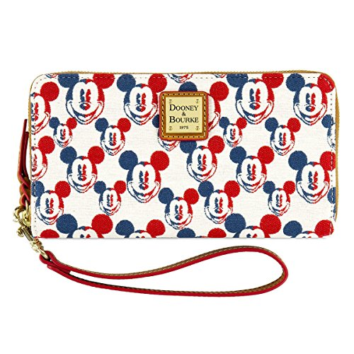 Disney Mickey Mouse Americana Wallet by Dooney & Bourke