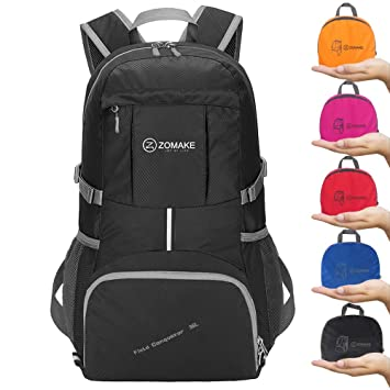 dced2dd9c0 ZOMAKE Camping Backpack Hiking Daypack - Foldable backpack
