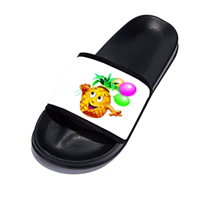 755134d38f2e Girls Boys Cute Cartoon Sandals Fashion Pool Shower Anti-Slip Summer Slide  Slipper for Kids