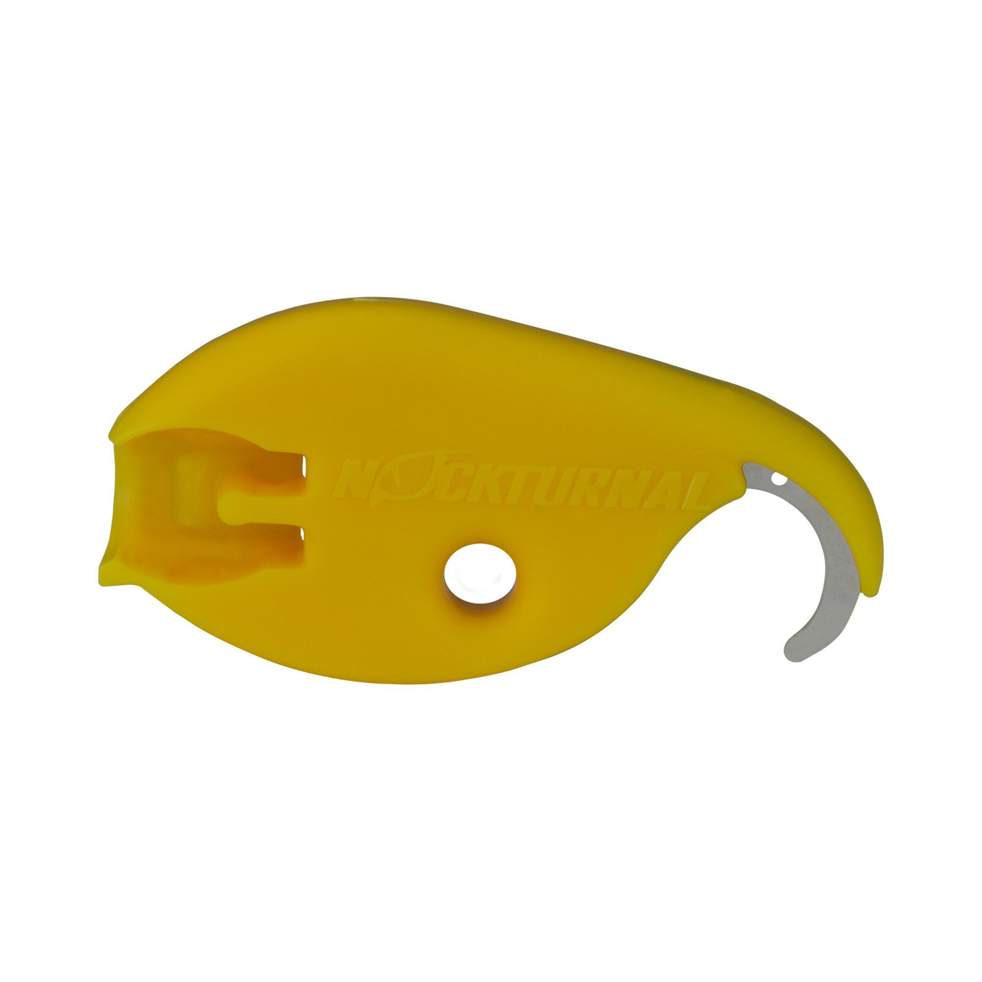 Nockturnal Archery Lighted Nocks Installation Removal Tool, Yellow