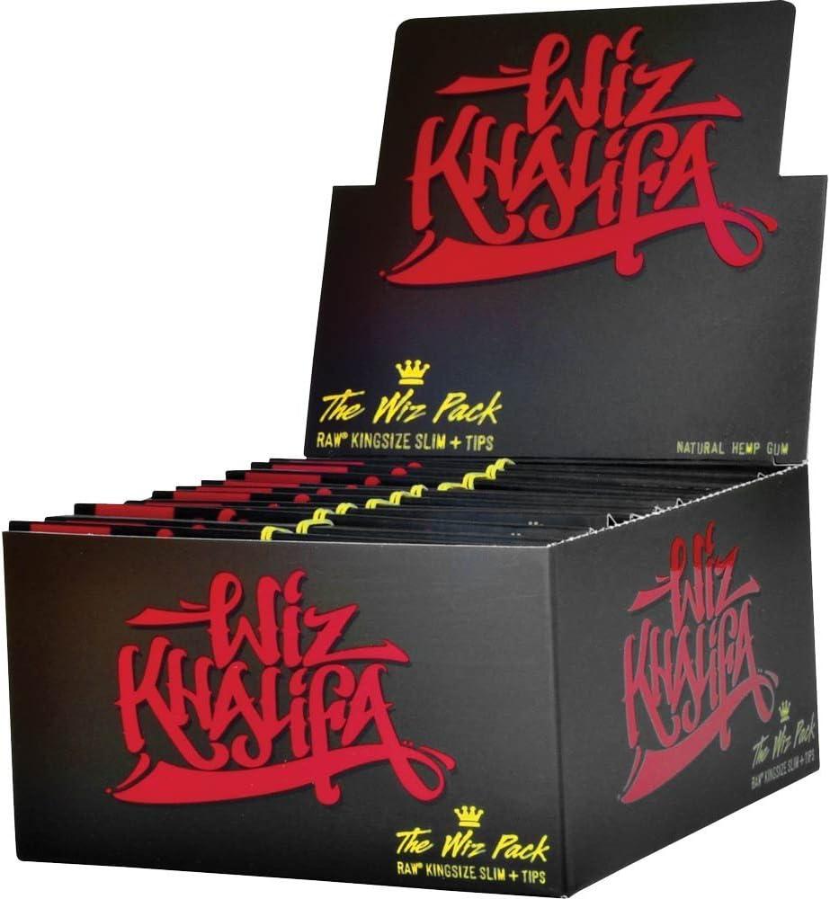 belhsligger Wiz Khalifa – The Wiz Pack – Raw King Size Slim Liar ...