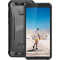 【2019】 Blackview BV5500 Pro Telefono Antiurto, 4G LTE Android 9.0, 3GB RAM e 16 GB ROM, Telefono Rugged, Display 5.5 Pollici, Batteria 4400 mAh, Fotocamera 8MP e 5MP, Dual SIM/NFC/GPS/GLONASS-Nero