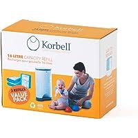Korbell KR250DR1B - Bolsas de recambio para papelera