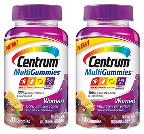 Centrum MultiGummies Multivitamin Cherry Orange product image