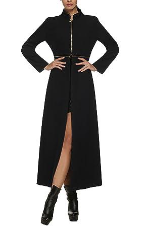 Élégante Longue Zeagoo Manteauvesteparka Femme Classique Vintage EfgE8xq0n