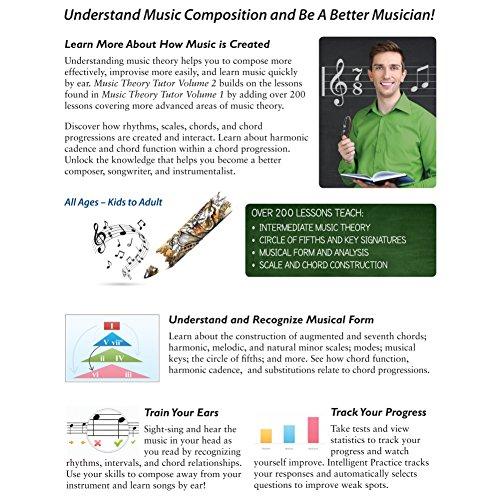 Amazon Emedia Music Theory Tutor Complete Vol 1 Vol 2 Software