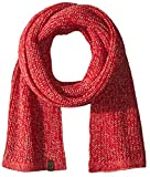 True Religion Men's Two Tone Knit Scarf, True Red, One Size