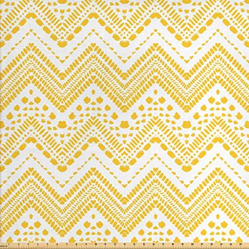 mustard yellow upholstery fabric - 7