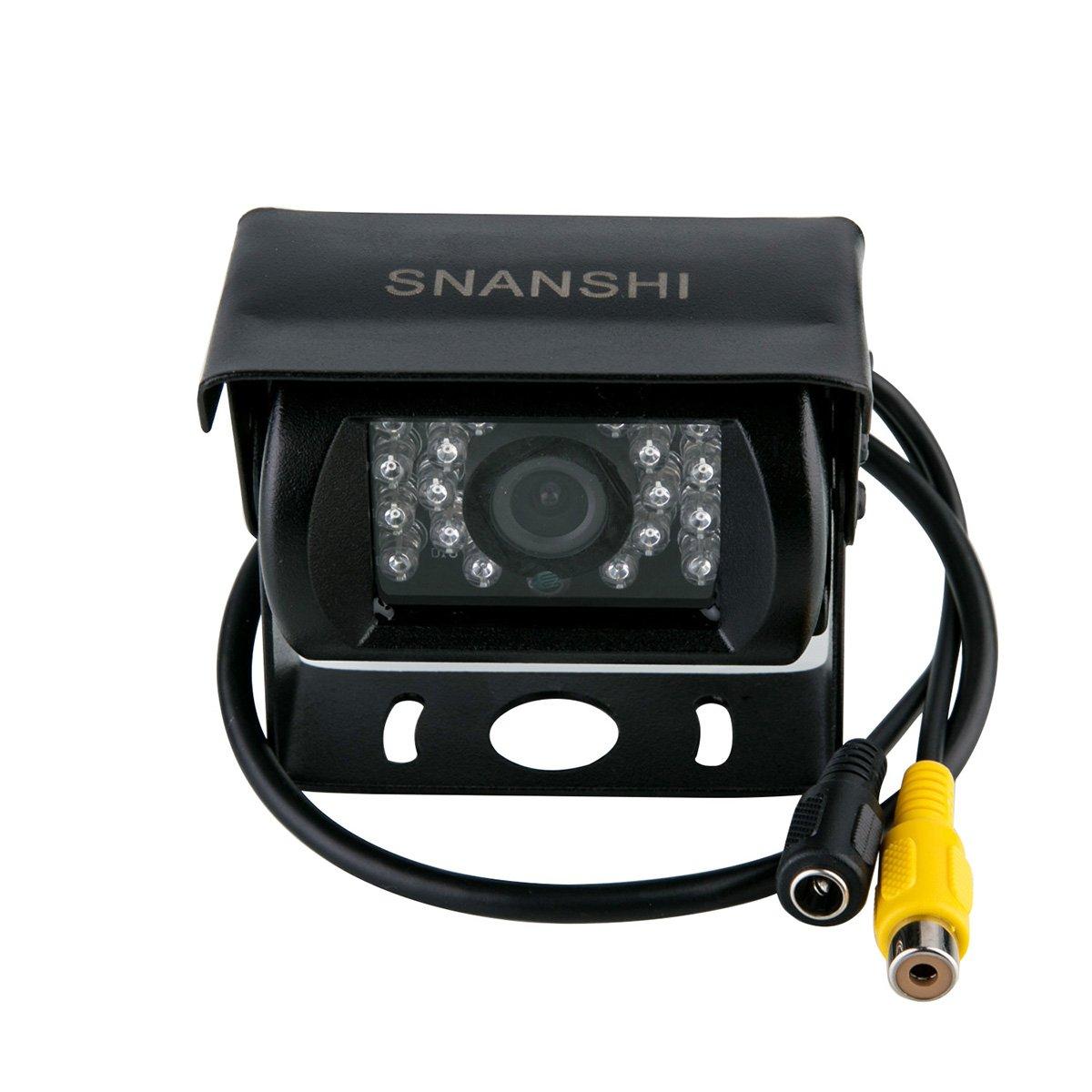 Camión coche retrovisor SXIESI autobús cámara CCD para el reexamen revocando aparcando Kit IR LED de visión nocturna impermeable