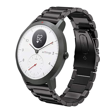 LeafBoat Compatible con Withings Steel HR Sport Smartwatch (40 mm ...