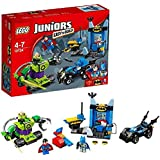 LEGO Dc Comics 10724 - Set Costruzioni Juniors Batman E Superman Vs Lex Luthor