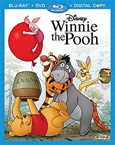 Cover Image for 'Winnie the Pooh (Three-Disc Blu-ray/DVD Combo + Digital Copy)'