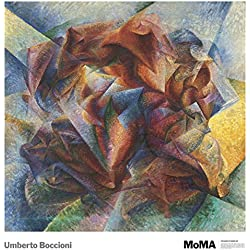 Dynamism of A Soccer Player, 1913 by Umberto Boccioni Painting Print