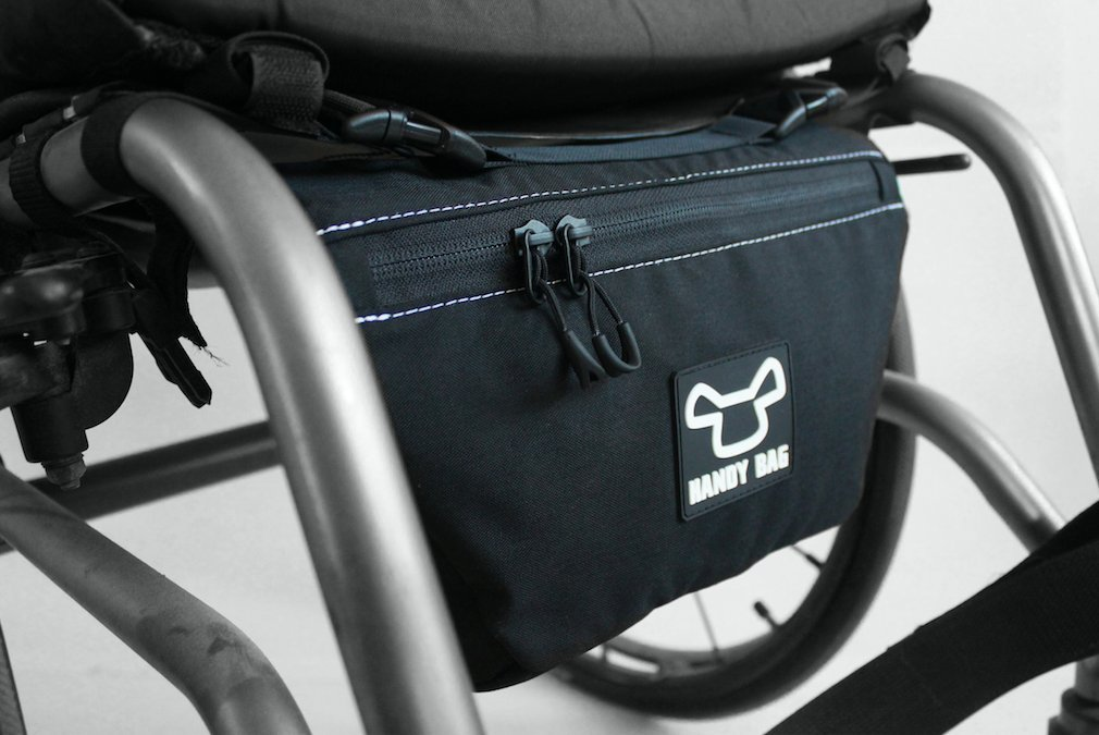 HandyBag Pouch - Wheelchair front bag/pouch