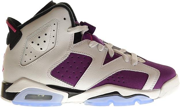Nike Air Jordan 6 Retro Gg, zapatillas de competición para niñas, color Blanco, talla M Big Kid: Amazon.es: Zapatos y complementos