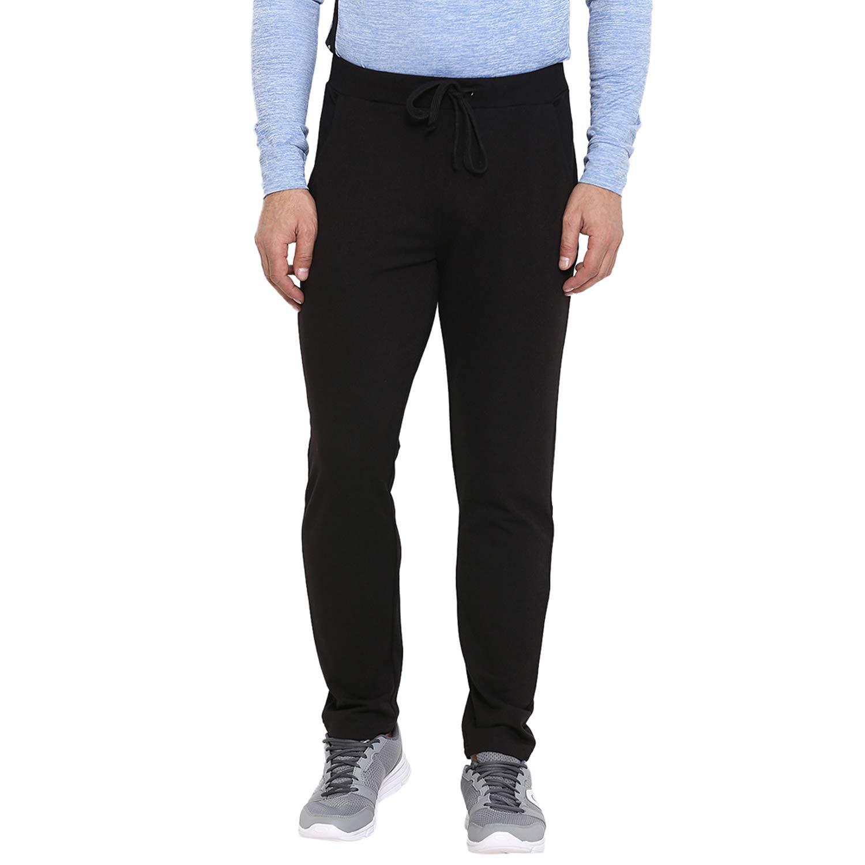 CHKOKKO Men's Cotton Gym Joggers Lower Track Pants with Pocket Black Size 2XL (B07FL949B4) Amazon Price History, Amazon Price Tracker