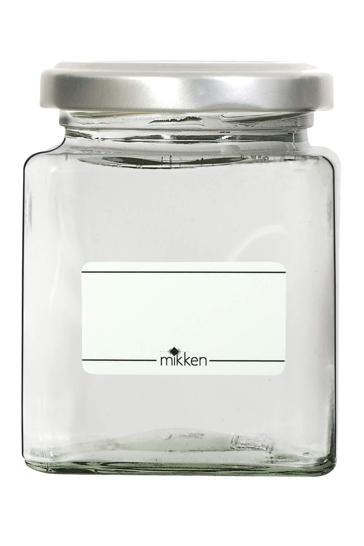 12 Gew/ürzgl/äser eckig 212 ml inkl 24 Gew/ürzetiketten