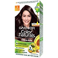 Garnier Color Naturals, Shade 3, Darkest Brown