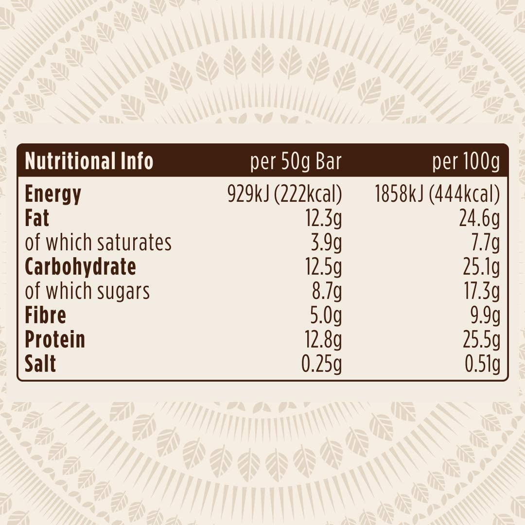 Pulsin Barrita Proteica de Cacahuetes y Sirope de Arce con Proteínas Vegetales - 18 Barras