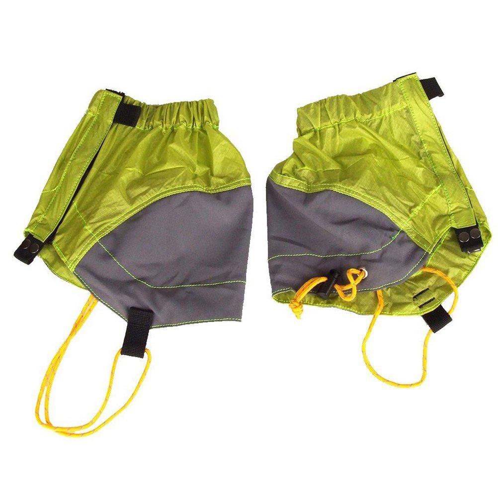 Nuolux extérieur Guêtres étanche Guêtres Taille 22x 20cm pour homme et femme Green