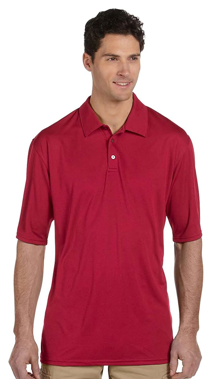 JERZEES Men's -r- SPORT Polyester Polo> True Red 441