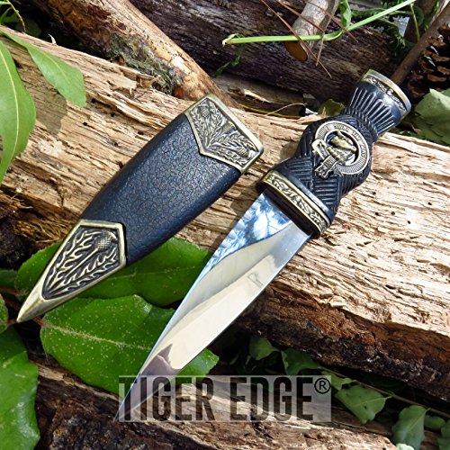 Sgian Dubh Dagger (FIXED-BLADE DAGGER iCareYou Knife 7.32