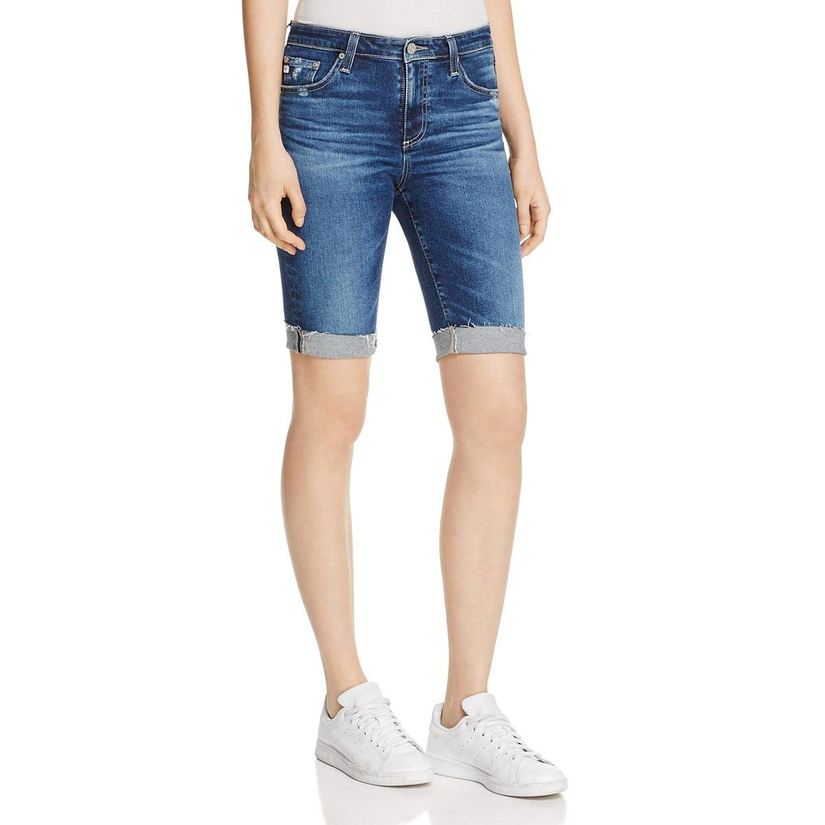 AG Adriano Goldschmied Women's Brooke Bermuda Jean Short, Years Ablaze, 26
