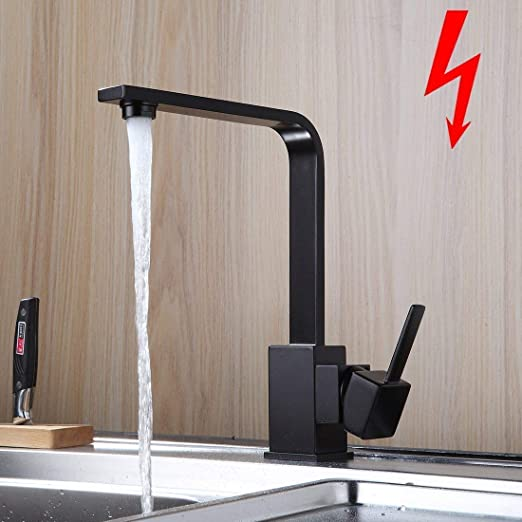 Niederdruck Mischbatterie Wasserhahn Küchenarmatur Spültischarmatur Küche Spüle
