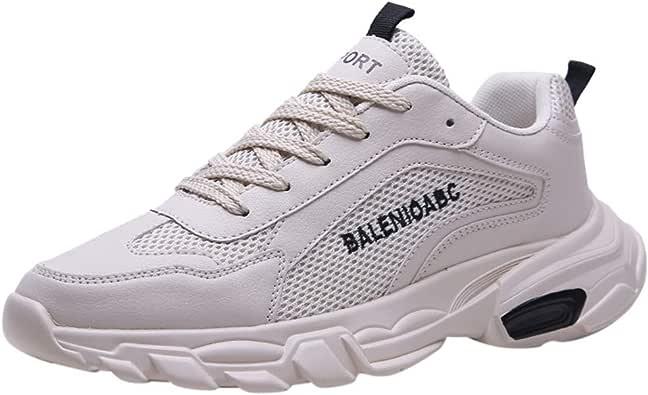 HEETEY - Zapatillas de Deporte para Hombre, Zapatillas para Correr, para el Tiempo Libre, para Caminar por la Calle: Amazon.es: Zapatos y complementos